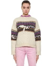 Étoile Isabel Marant - Wool Jacquard Knit Sweater - Lyst