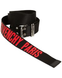 Givenchy - 35mm Roll Buckle Cordura Belt - Lyst