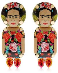 Bijoux De Famille - Frida Pendant Earrings - Lyst