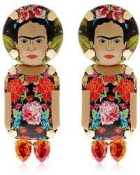Bijoux De Famille - Frida Pendant Earrings - Lyst