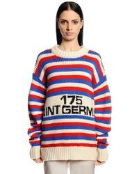 Sonia Rykiel - Oversized 175 Saint Germain Wool Sweater - Lyst