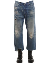 Levi's | 18cm Ripped Old West Denim Jeans | Lyst