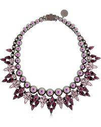 Ellen Conde - Brilliant Jewelry Crystal Necklace - Lyst