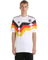 adidas Originals - Germany 1990 Football Jersey - Lyst
