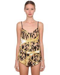 Versace Printed Pyjama Tank Top