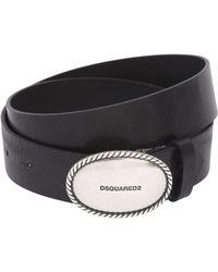 DSquared² - 35mm Leather Hip Belt - Lyst