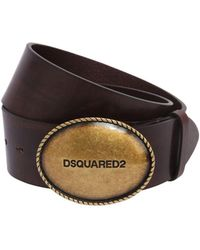 DSquared² - 35mm Leather Hip Belt - Lyst