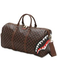 Sprayground - Sharks In Paris Faux Leather Duffle Bag - Lyst