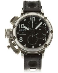 U-Boat - Chimera Sideview Chronograph Watch - Lyst