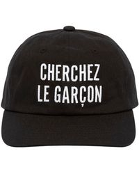 Etudes Studio - Garcon Embroidered Cotton Baseball Hat - Lyst