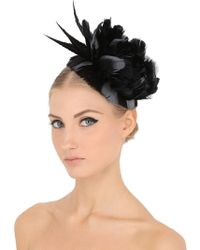 Nanà Firenze - Birba Rock Feather Headdress - Lyst