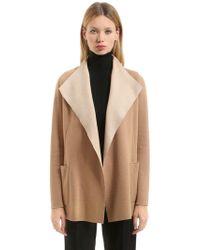 Agnona - Cashmere Jersey Light Coat - Lyst