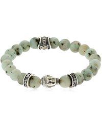 Cantini Mc Firenze - Buddha Bracelet With Beads - Lyst