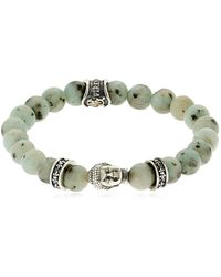 Cantini Mc Firenze - Buddha Bracelet With Beads - Lyst