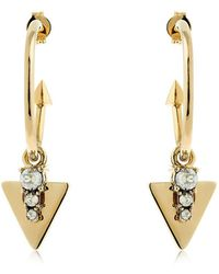 Schield - Hoop Earrings - Lyst