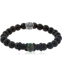 Cantini Mc Firenze - Crown Labradorite Beaded Bracelet - Lyst
