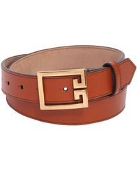 Givenchy - 30mm 2g Leather Belt - Lyst
