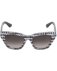 Oxydo - Printed Acetate Sunglasses - Lyst