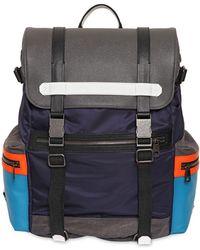 Dolce & Gabbana | Etna Color Blocked Nylon Backpack | Lyst