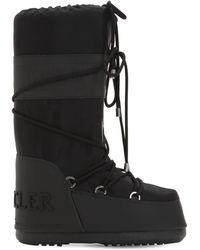 Moncler - Saturne Moon Boots High - Lyst