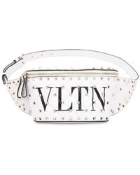 Valentino - Spike Vltn Belt Pack - Lyst