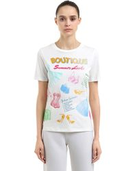 Boutique Moschino | T-shirt In Cotone | Lyst