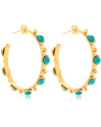 Sylvia Toledano - Petite Candies Hoop Earrings - Lyst