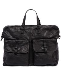 Campomaggi | Leather Bag W/ Vintage Effect | Lyst