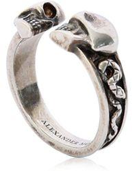 Alexander McQueen - Skulls & Snakes Ring - Lyst