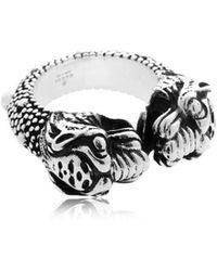 Gucci - Vintage Tiger Ring - Lyst