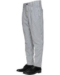Etro - Pinstriped Cotton Chino Pants - Lyst