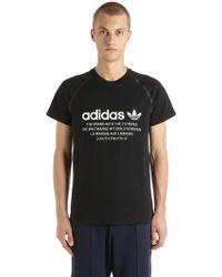adidas Originals - Nmd Cotton Jersey T-shirt - Lyst
