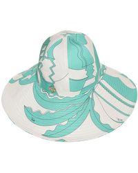 Emilio Pucci - Printed Techno Hat - Lyst