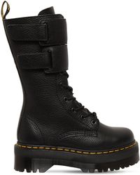 Dr. Martens - 40mm Jagger Tumbled Leather Boots - Lyst
