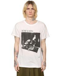 Enfants Riches Deprimes - Live In Berlin Cotton Jersey T-shirt - Lyst