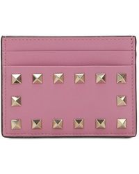 Valentino - Rockstud Card Holder - Lyst