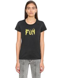 Givenchy - Fun Print Cotton Jersey T-shirt - Lyst