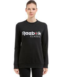 Reebok - Iconic French Terry Sweatshirt - Lyst