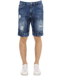 0ec9324e8d Pantalones cortos Philipp Plein de hombre desde 99 € - Lyst