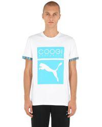 Puma Select - Coogi Logo Cotton Jersey T-shirt - Lyst