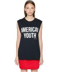 Calvin Klein - American Youth Printed Tank Top - Lyst