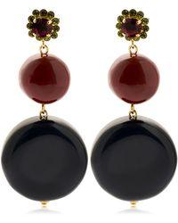 Marni - Dots Drop Earrings - Lyst