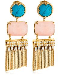 Iosselliani - Fringed Earrings - Lyst