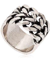 Alcozer & J - Chain Ring - Lyst