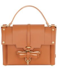 Niels Peeraer - Medium Bow Buckle Leather Top Handle Bag - Lyst