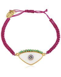 Katerina Psoma - Amulets For Hangover Eye Bracelet - Lyst