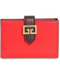 Givenchy - Gv3 Leather Card Holder - Lyst