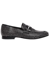 Steve Madden - 10mm Kast Studded Faux Leather Loafers - Lyst