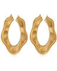 Joanna Laura Constantine - Collar Statement Earrings - Lyst
