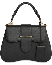 Prada - Large Sidonie Lux Leather Top Handle Bag - Lyst ca8a39cb6dfdc